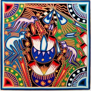 textiles huicholes nayaritas mexicanos