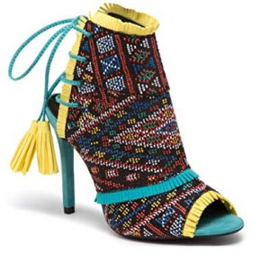 zapatos huicholes