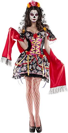 Disfraz de Catrina 3 Piezas para Mujer