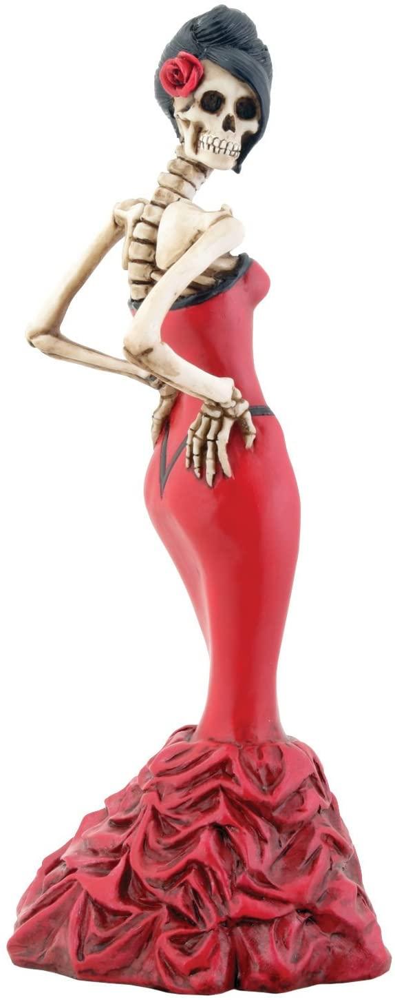 Catrina vestido rojo