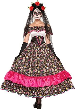 Disfraz de novia catrina